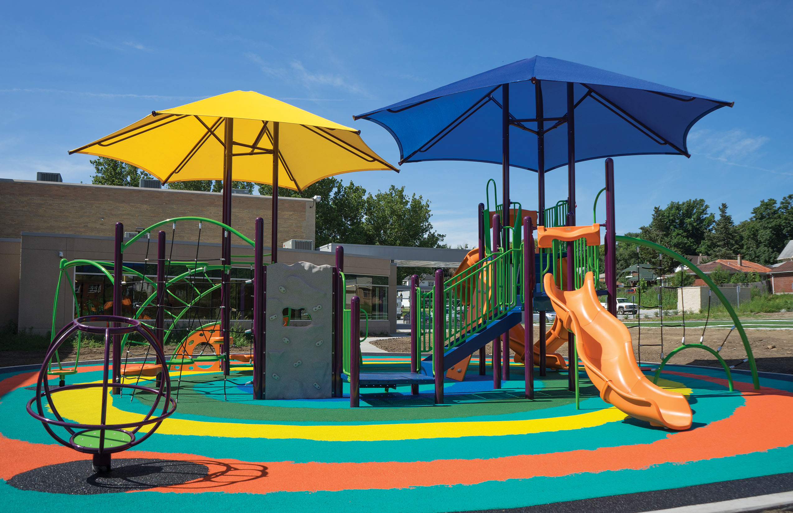 Hexagon Shade Canopies & Shade Canopies for Playgrounds